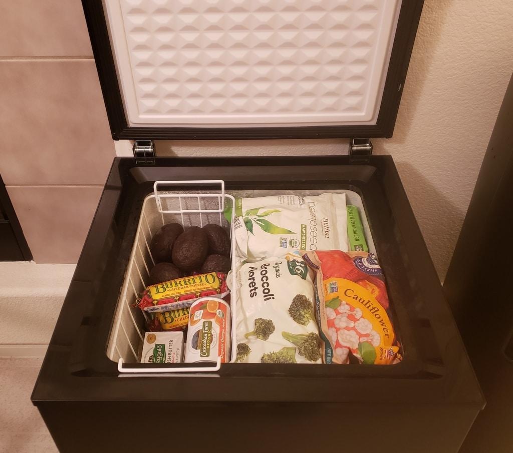 Prepper Pantry Freezer
